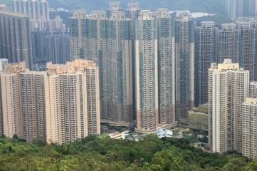 調景嶺的高樓大廈