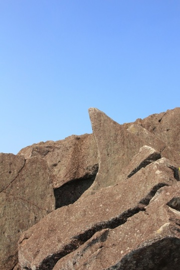 鯊魚石是第二重石林的標記