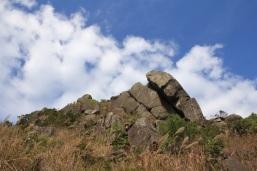 層層疊疊的石城