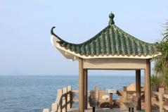 海邊的觀景亭