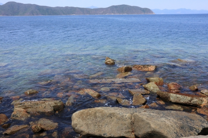 湛藍的海岸